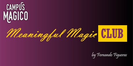 BAMBERG/NÜRNBERG/MÜNCHEN Meaningful-Magic Club from CAMPUS MAGICO tickets