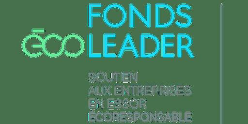 Lancement régional (Mauricie) - Fonds Écoleader