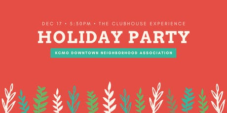 Downtown Neighborhood Holiday Party tickets