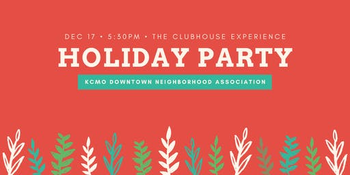 Downtown Neighborhood Holiday Party