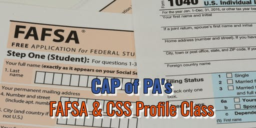 FAFSA/CSS Profile Tutorial