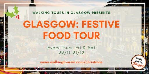 Glasgow: Festive Food Tour