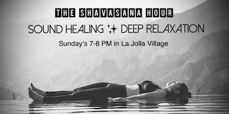 Sound Healing & Deep Relaxation tickets