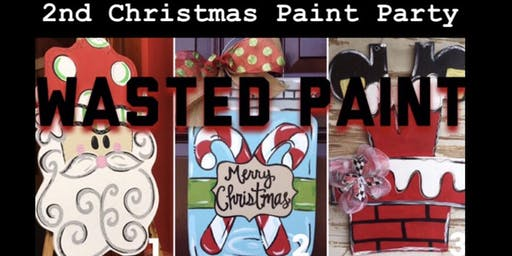 2nd Christmas Paint Party