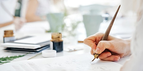 MODERN CALLIGRAPHY FOR BEGINNERS — 14 DEC tickets