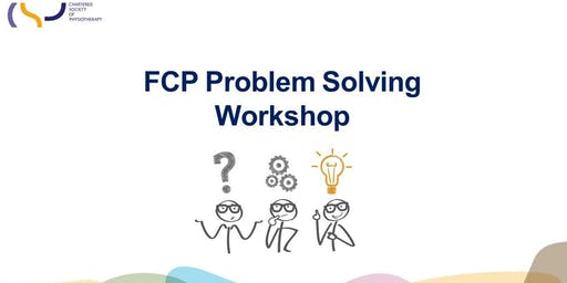 CSP - FCP Problem Solving Workshop