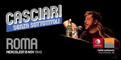 Hernán Casciari sin subtítulos — MIÉ 13 NOV, Roma