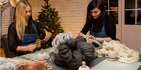 Paddington Central Winter Workshop: Wool Wreath Making tickets