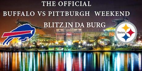 BLITZ IN DA BURG - GAME DAY TAILGATE PARTY tickets