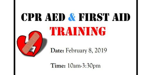Adult and Child CPR/First Aid Training