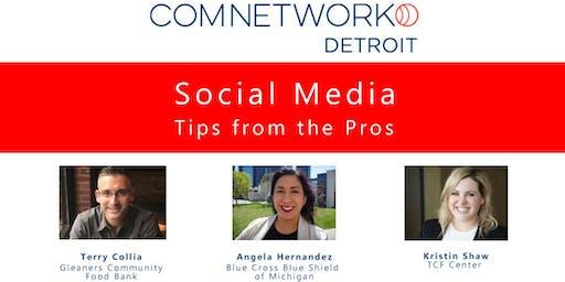 ComNetwork Detroit November  Meet Up: Social Media Tips from the Pros