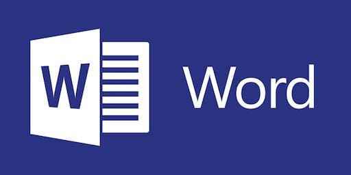 Prise en main Microsoft Word - Session 1
