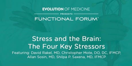 Stress and the Brain: The Four Key Stressors tickets