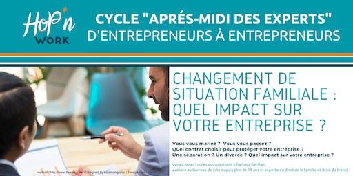 Cycle RDV des EXPERTS : Changement de situation familiale : Quel impact ?