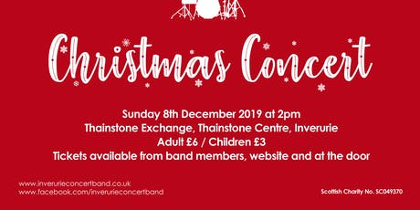 Inverurie Concert Band, Christmas Concert tickets