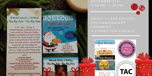 Rockys lake Estates 5th Anniversary Event A Kidney for Kincaid