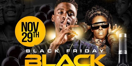 Black Friday Black Everything  All Black Party Soldier  & Khia