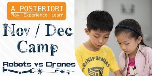Nov / Dec Camp (Robots vs Drones)