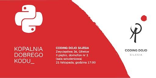 Coding Dojo Silesia Gliwice #5G – Python edition