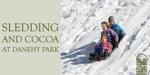 Sledding and Cocoa in Danehy Park