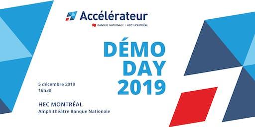 Démo Day 2019 de l'Accélérateur Banque Nationale - HEC Montréal