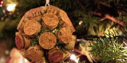 Holiday Cork Ornament Workshop