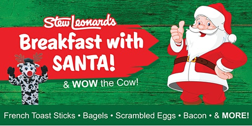Stew Leonard's East Meadow Breakfast with Santa