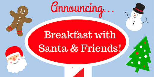 Breakfast with Santa & Friends at Chick-fil-A Oaks Mall!