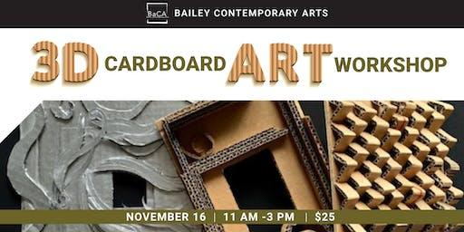 Cardboard Art Workshop
