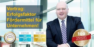 Erfolgsfaktor Fördermittel für Unternehmen - Kai Schimmelfeder live!