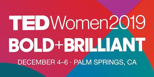 TEDxFlandersWomen2019 // cinema/NO FOOD/drinks/workshop/music/art/networking