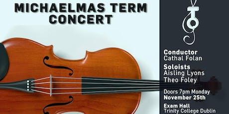 Trinity Orchestra Michaelmas Term Concert 2019 tickets