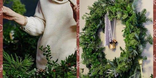 5th Annual Christmas Wreath Workshop