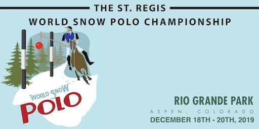 St. Regis World Snow Polo Championship