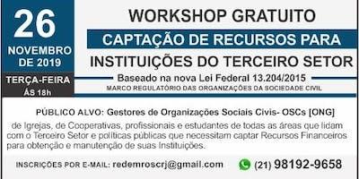 CAPTAÇÃO DE RECURSOS PARA  INSTITUIÇÕES DO TERCEIRO SETOR