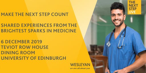 The Next Step Edinburgh - Make the Next Step Count