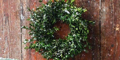 Saturday Holiday Wreath Making Workshop tickets