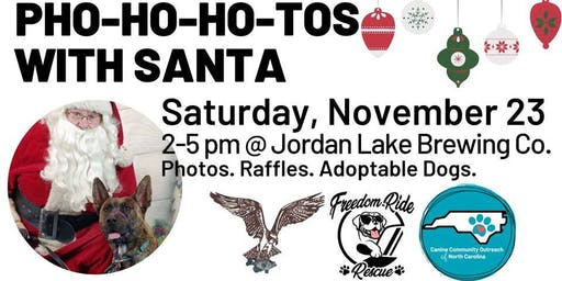 PHO HO HO TOS with Santa!