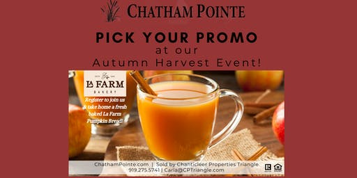Autumn Harvest Event + Open House!