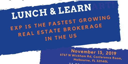 Lunch and Learn with Tropical Beachside - Wednesday Nov 13th
