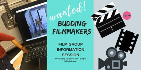 Film group information session tickets