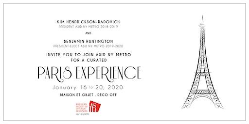 2020 ASID NY Metro Paris Experience
