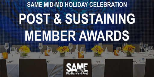 SAME Mid-Maryland Post Awards & Holiday Party