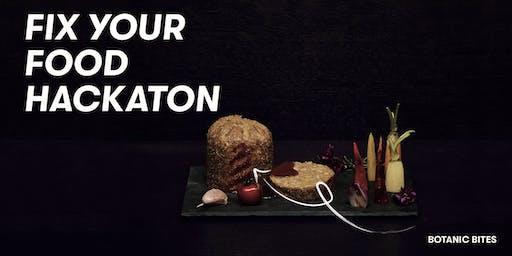 Fix Your Food Hackathon