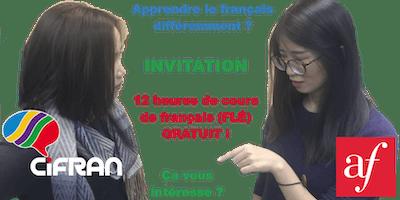 12 heures de cours de français gratuits ! ANL1, Rouen 11-2019