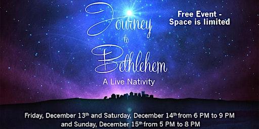 Journey to Bethlehem 12/14/19