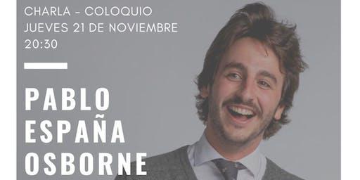 Charla coloquio Pablo España Osborne