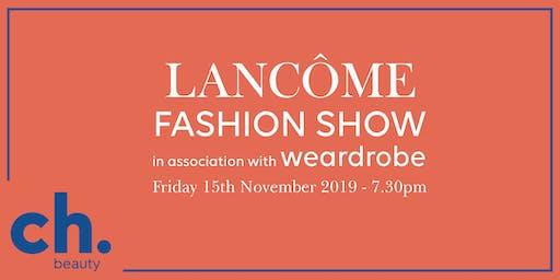 Lancome Fashion Show