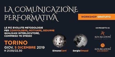 Workshop gratuito sulla Comunicazione Efficace | TORINO
