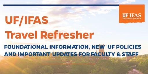 UF/IFAS Travel Refresher Training